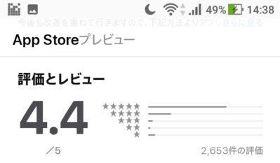 スタディサプリTOEIC iPhoneアプリ 評価とレビュー
